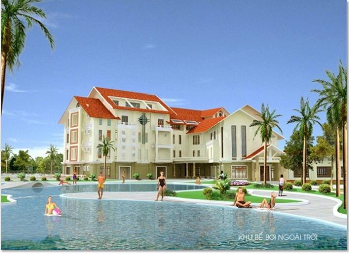 Khu trung tâm dịch vụ TDTT- Khu Đô thị sinh thái Hà Hải, thành phố Hải Dương