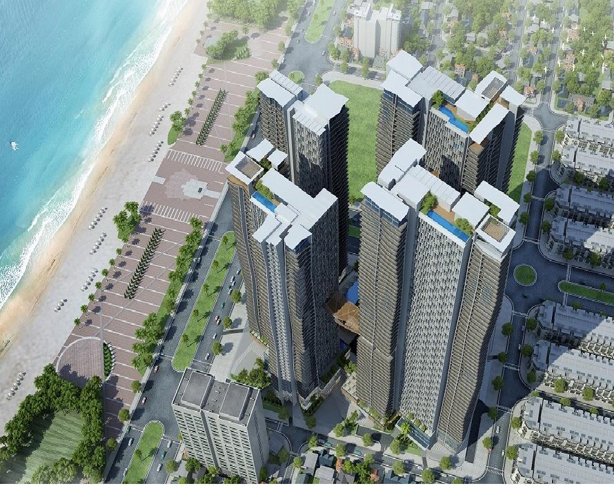 Tổ hợp khách sạn 5 sao và căn hộ cao cấp Ánh Dương – Soleil Đà Nẵng, quận Sơn Trà, thành phố Đà Nẵng