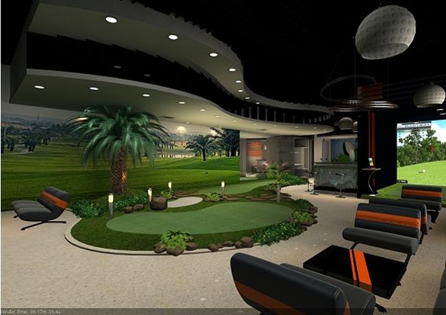 Nội thất Trung tâm giải trí City Golf 88 Láng Hạ- trong tòa nhà SkyCity 88 Láng Hạ, thành phố Hà Nội